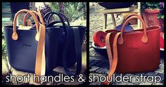 O bag shoulder straps by Fullspot