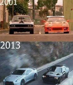 Fast and furious so awesome!