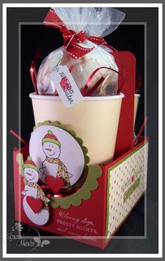 1-Papertrey Ink Countdown-Cocoa to go - My Time, My Creations, My Stampendence