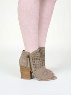 Altar'd State Melissa Open Toe Bootie - Footwear - Sale