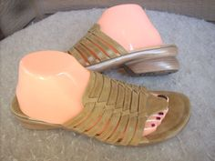 Dansko women sandals 41 / 10.5-11 Tan Leather Thong shoes Portugal #Dansko #Slides #Casual $29.90