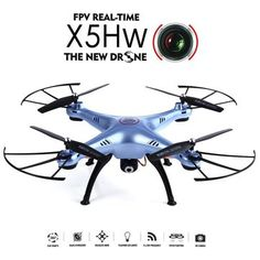 Only US$58.99, buy best Syma X5HW WIFI FPV With HD Camera Altitude Mode 2.4G 4CH 6Axis RC Quadcopter RTF sale online store at wholesale price.US/EU warehouse.