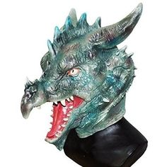 Adult Dragon Halloween Mask For Halloween Party Head Masquerade Carnival Party  #OpportunityBestDeal