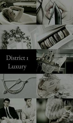 The Hunger Games Aesthetics: District 1