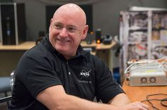NASA astronaut Scott Kelly is pictured during a training session at NASA's Johnson Space Center in Houston, Texas. <br />