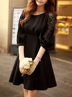 DABUWAWA's creation are usually with elegant lace and trendy floral prints. Shop plain cute classy coat and sweet dresses online. Cheap Dresses, Short Dresses, Fashion Moda, Women's Fashion, Sweet Dress, Half Sleeves, Dresses Online, New Dress, Gypsy