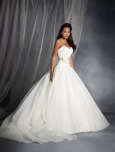 The 2015 Alfred Angelo Disney Fairy Tale Wedding Gowns - Snow White