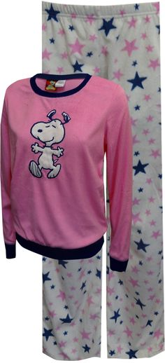 Peanuts Snoopy Dancing with Stars Soft Velvety Pajama e3be33e719