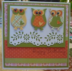 Handmade  Birthday Greeting Card by Cheryl