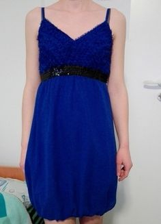 Kup mój przedmiot na #vintedpl http://www.vinted.pl/damska-odziez/krotkie-sukienki/12789795-sukienka-kobalt-indygo-reserved #sukienka36 #reserved #kobalt #indygo