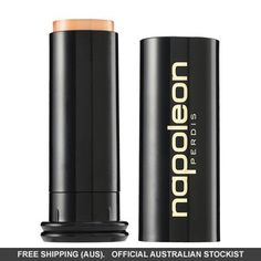 Napoleon Perdis Foundation Stick is a Hypoallergenic double beauty duty base formula that offers variable coverage from very minimal to maximum depending on your mood for the ultimate complexion perfection. Long Lasting Foundation, Best Foundation, Foundation Stick, Full Coverage Concealer, Napoleon Perdis, Formula Cans, Uneven Skin Tone, Sunscreen, Bath And Body