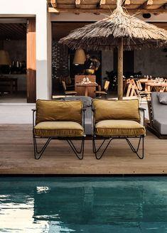Casa Cook Kos Resort Hotel Design, Greece – Design. / Visual. Outdoor Dining, Outdoor Sofa, Outdoor Furniture Sets, Kos, Ibiza, Greece Design, Resort Interior, Casa Cook, Villa