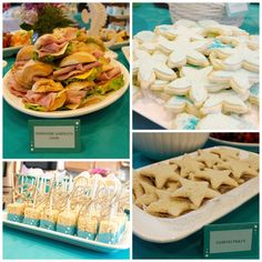 Project Nursery - under the sea theme party food