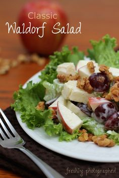 salads fruit salads classic salad blackberry crumble waldorf salad ...