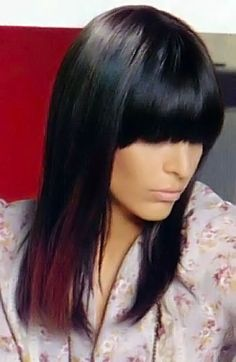 Long dark hairstyles picture 9.