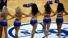 Sixers Dancers - Cheerleading squad of the Philadelphia 76ers oh yeah my best wish from martronic Martin Hansl