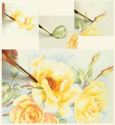 A BRAND NEW ANNIE'S ATTIC CREATIVE PAINTER CRAFT KIT. ILLUSTRATED STEP-BY-STEP INSTRUCTIONS INCLUDED. ALL PAINTING MATERIALS INLCUDED. DOES NOT INCLUDE BRUSHES.    Grace the walls of your home with this beautiful bouquet of yellow roses.     Bring nature's beauty indoors to brighten your home with colorful yellow roses that look so realistic you practically smell them!