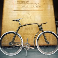Pure Gold Velo House of Pertijs ft VIKS bicycles.