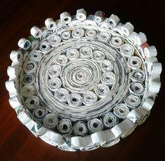 vassoio carta riciclata