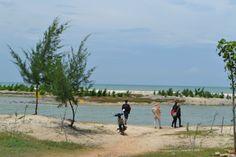 Indahnya Pantai Pasir Putih di Tuban - Part 1