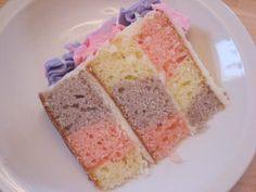 The Checkerboard Cake