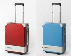 Fans of Pantone can now travel with these Carry Cases, offered in a wide gamut of colors. There are 15 tones in total, ranging from primary colors to various hues, there is bound to be a color for everyone. The sad news is they are only available through nano universe online shop in Japan. - Via http://www.freshnessmag.com/2012/07/04/pantone-universe-carry-case-collection/#