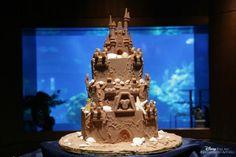 Disney sandcastle CAKE