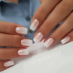 10 Elegant Rose Gold Nail Designs 10 Elegant Rose Gold Nail Designs,Nageldesign 10 Elegant Rose Gold Nail Designs That You Should Try Related Cute Fall Manicure To Copy Right Now - Nail Art. Cute Nails, Pretty Nails, My Nails, Shiny Nails, Nails Today, Pink Tip Nails, Pretty Short Nails, Pale Pink Nails, White Tip Nails