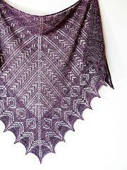 Ravelry: Alexandra Shawl pattern by Dee O'Keefe
