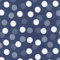 "Moda ""Color Theory"" - Dots auf blau"