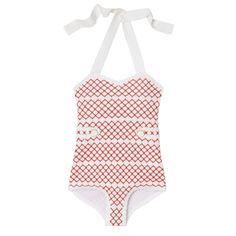 Macrame swimsuit - Orla Kiely