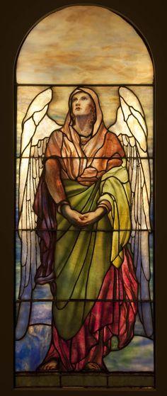 Louis Comfort Tiffany, Angel, 1902, Montreal Museum of Fine Arts
