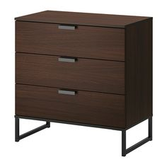 "TRYSIL 3 drawer chest - IKEA, $79.99 [29.5"" W x 15.75"" D x 30.5"" H] -- as bedside tables?"