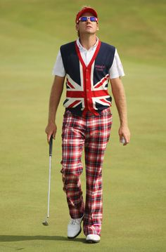 Ian Poulter reps GB