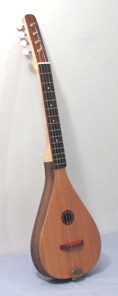 Ukulele Strummer Tenor Ukeulele steel string by BigleafMandolins