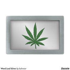 Weed Leaf Silver Bel