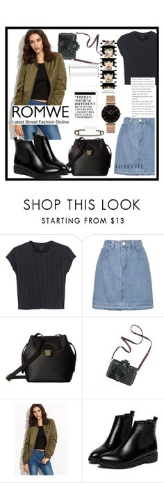 """""""Military Jacket"""" by dchatzin ❤ liked on Polyvore featuring Monki, Topshop, Vivienne Westwood, Madewell, Anja, WithChic, Nicki Minaj, CLUSE and romwe"""