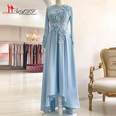 No automatic alt text available. Hijab Evening Dress, Hijab Dress Party, Hijab Style Dress, Formal Evening Dresses, Muslim Wedding Dresses, Muslim Dress, Bridal Dresses, Abaya Fashion, Fashion Dresses