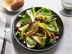 Get Caramelized Pancetta and Fennel Salad Recipe from Food Network