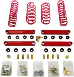 1997-2006 Jeep Wrangler (tj) Suspension Lift Kit Rancho Jeep Suspension Lift Kit Rs6503 97 98 99 00 01 02 03 04 05 06