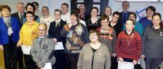 16/02/14. HAUT RHIN. Des médailles du travail à l'Esat Saint-André. LIRE http://www.lalsace.fr/haut-rhin/2014/02/16/des-medailles-du-travail-a-l-esat-saint-andre