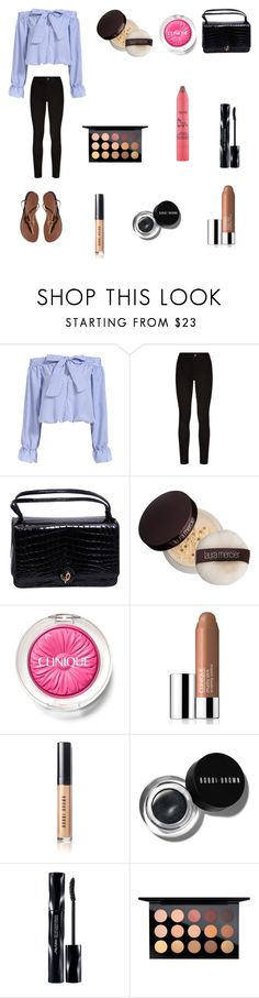 """No makeup shaming"" by ceiraxox ❤ liked on Polyvore featuring beauty, Paige Denim, Hermès, Judith Leiber, Laura Mercier, Clinique, Bobbi Brown Cosmetics, Shiseido, MAC Cosmetics and tarte"