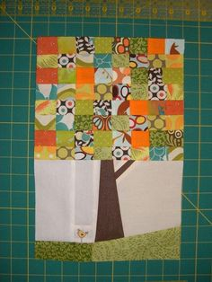 Hip to Bee Square - April by Marblesbestfriend, via Flickr