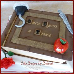 Once Upon a Time Birthday Cake Cakedesignsbydeborah.co.uk