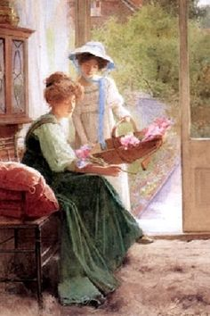 """IRISES"" By: Carlton Alfred Smith (1909)"