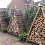 triangle-outdoor-firewood-storage-ideas