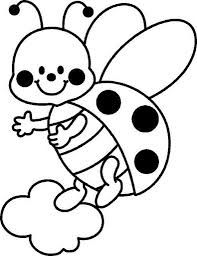 Cute Coloring Pages For Girl Collections Printable Flower Coloring Pages, Bee Coloring Pages, Farm Animal Coloring Pages, Coloring Pages For Girls, Coloring For Kids, Coloring Books, Art Drawings For Kids, Easy Drawings, Art For Kids