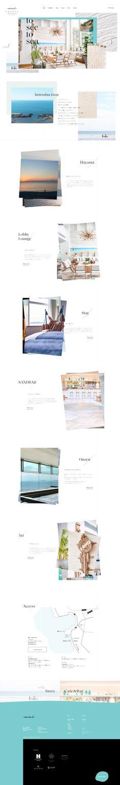 Website Design Inspiration, Web Japan, User Interface, Layout, Hayama, Woody, Feminine, Template, Simple