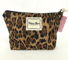 Medium Make-Up Bag- Leopard for $20 on www.vrhandbags.com