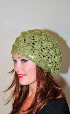 b00801d583b26 Slouchy Beanie Women Crochet Slouchy Hat Women Light Green Sage Neutral  Christmas Gift